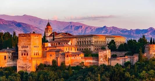 spanyol jelen idő Granada kastély 1
