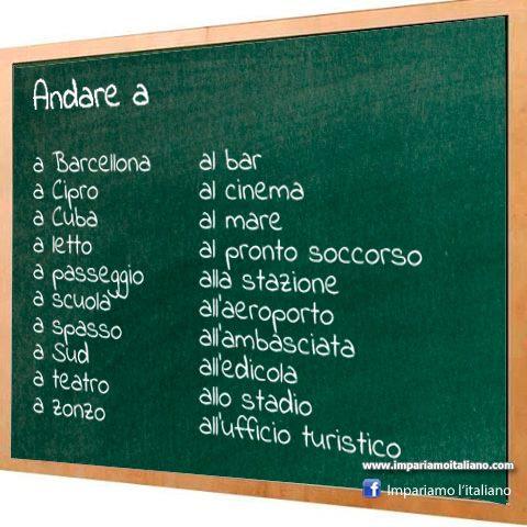 olasz elöljárószó