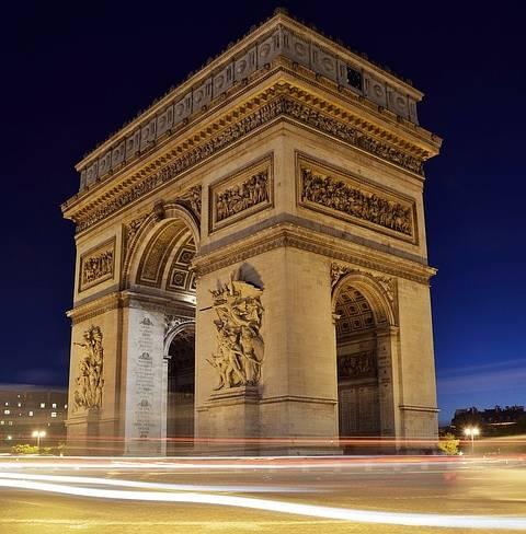 Diadalív Párizs francia jövő idő