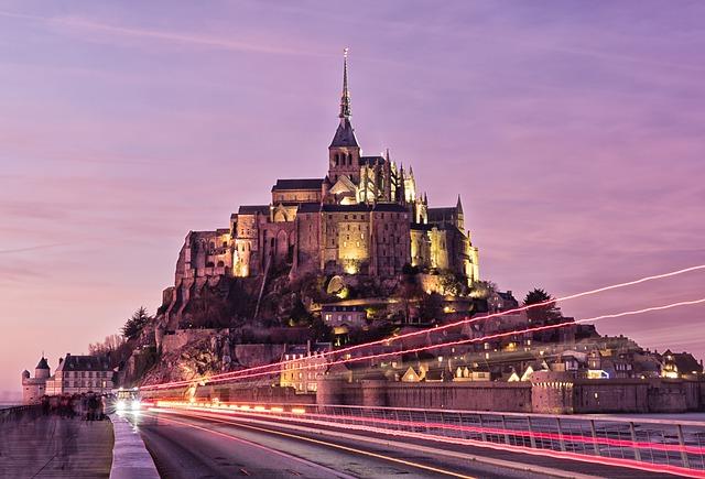 Le Mont-Saint-Michel subjonctif présent