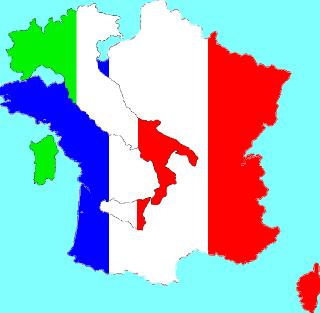 olasz francia igeidők France Italy