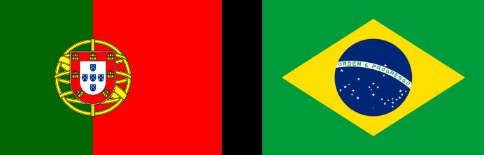 portugál-nyelv-Portugália-és-Brazília-zászlaja