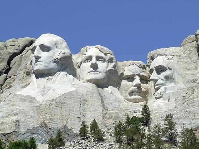 angol igerendszer Mount Rushmore Washington