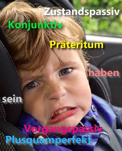 német igerendszer
