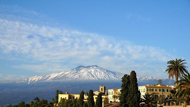 olasz kifejezések Etna Szicília
