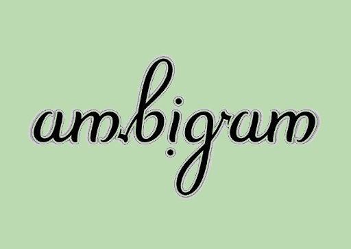 palindrom ambigramma