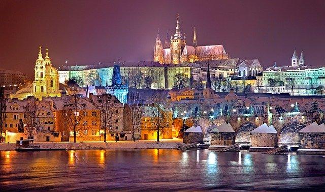Prága cseh jelen idő