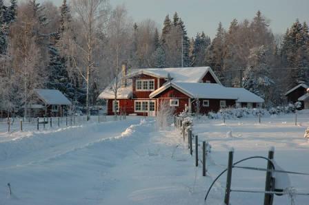 2020-2021 tél Svédország
