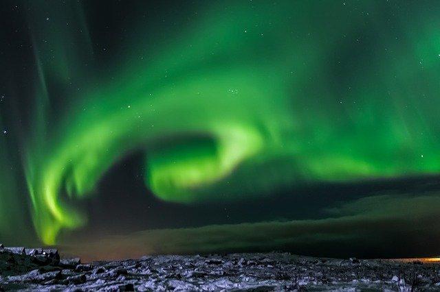 izlandi főnév aurora borealis